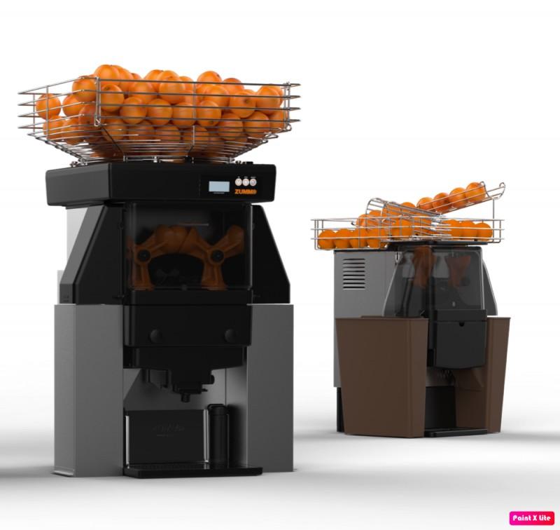Espremedor de laranja inteira industrial