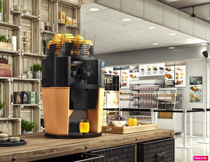 Máquina de extração de suco de laranja