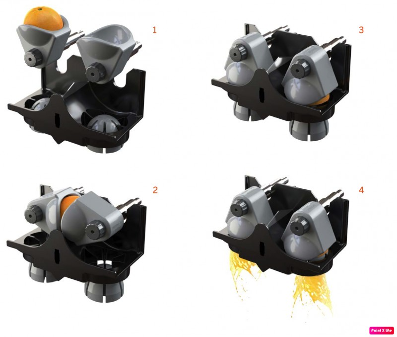 Máquina de fazer suco de laranja automática