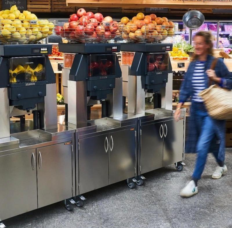 Máquina de fazer suco de laranja com casca preço