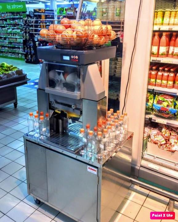 Máquina de suco aluguel preço