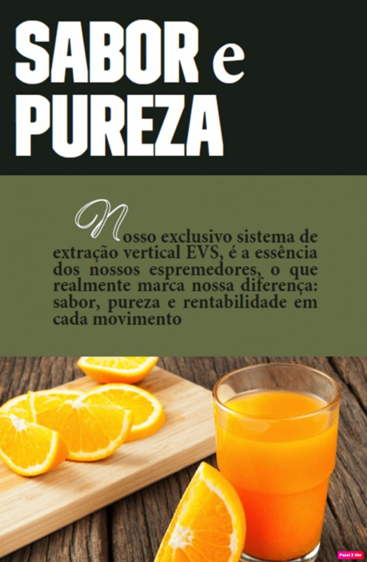Máquina suco de laranja profissional
