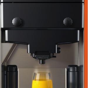 Máquina  para extração de suco de laranja